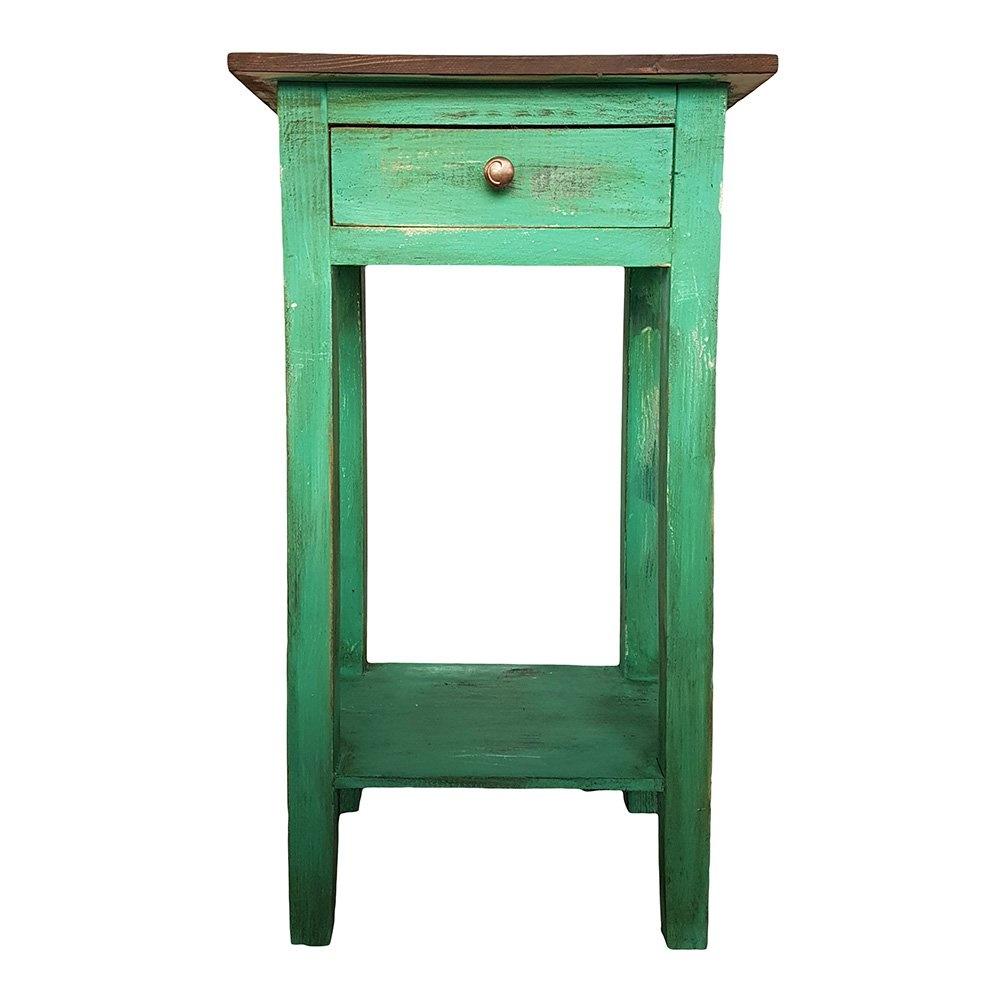 Boswell Eskitme Komodin Klasik Yeşil