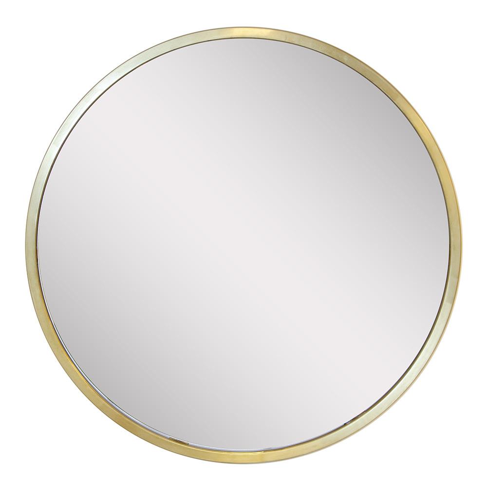 Altıncı Cadde Bronz Ayna 80 cm Cap Ürün Resmi