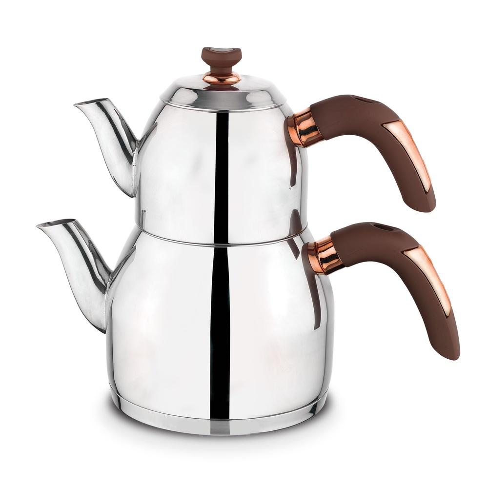 Soft Çaydanlık - Bronz