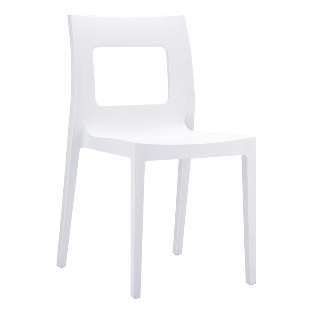 Siesta Contract Lucca Sandalye Beyaz Ürün Resmi
