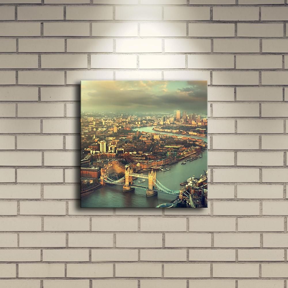 Özgül 28x28 cm İçten Aydınlatmalı Tablo Ürün Resmi