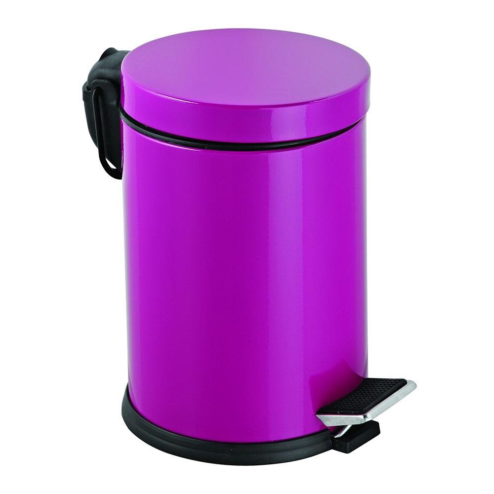 Dibanyo Pedallı Çöp Kovası 5 Litre Fuşya Ürün Resmi