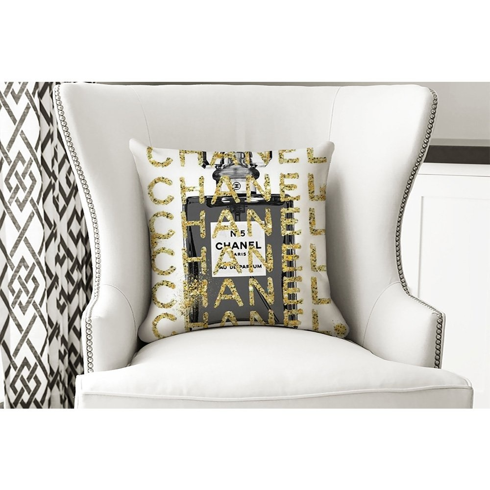 Yastık Gold Chanel Parfüm