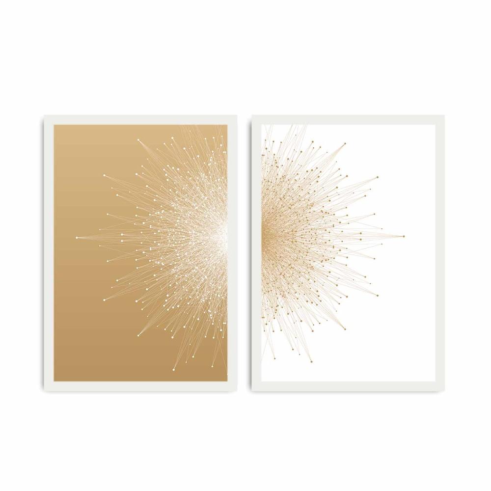 Özgül 2 Parça Beyaz Çerçeveli Tablo Ürün Resmi