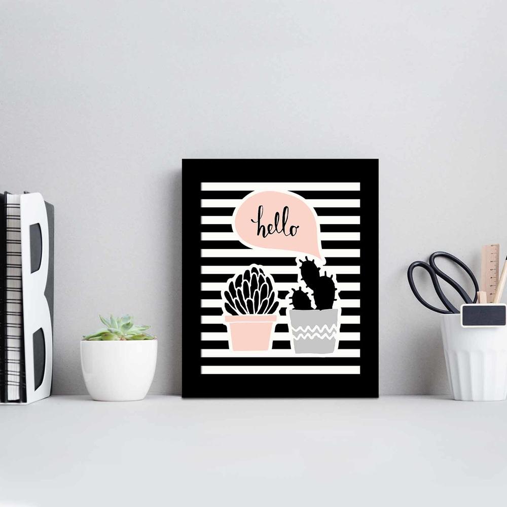 Özgül 23,5x28,5 cm Siyah Çerçeveli Tablo Ürün Resmi