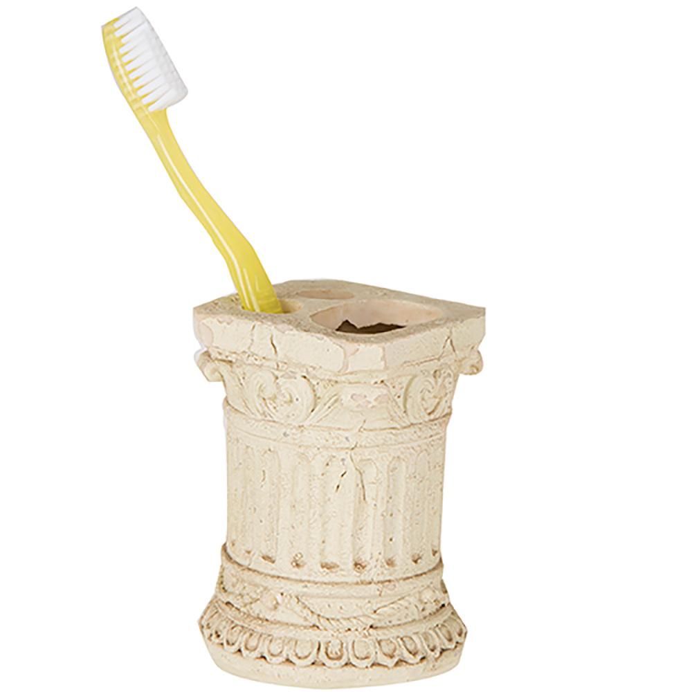 Diş Fırçalık Tarihi Sütun Şekilli Banyo Aksesuarı