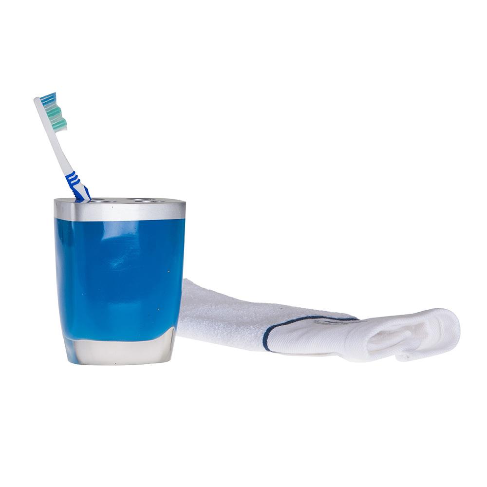 Diş Fırçalık Gri Mavi Model Banyo Aksesuarı