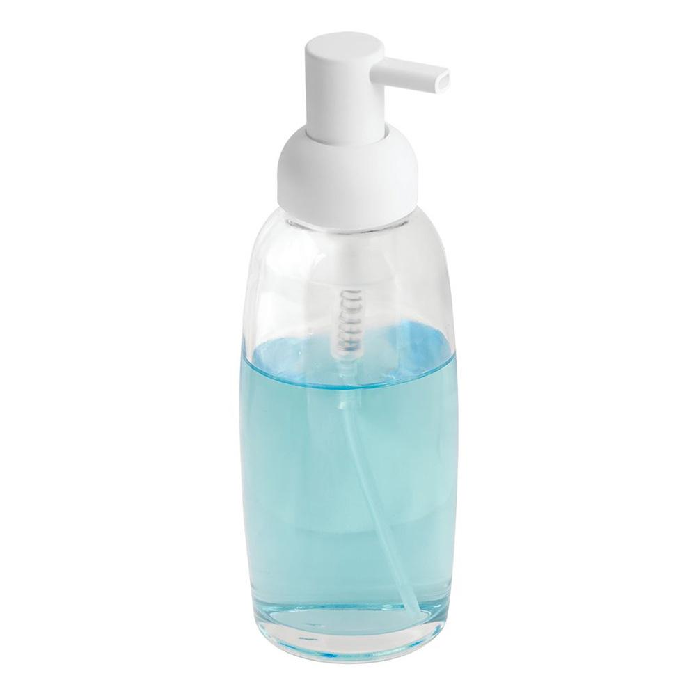 Sıvı Sabunluk Şeffaf Cam Model Banyo Aksesuarı