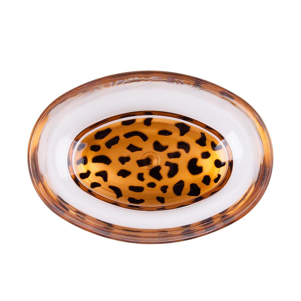 Sabunluk Leopar Desenli Banyo Aksesuarı