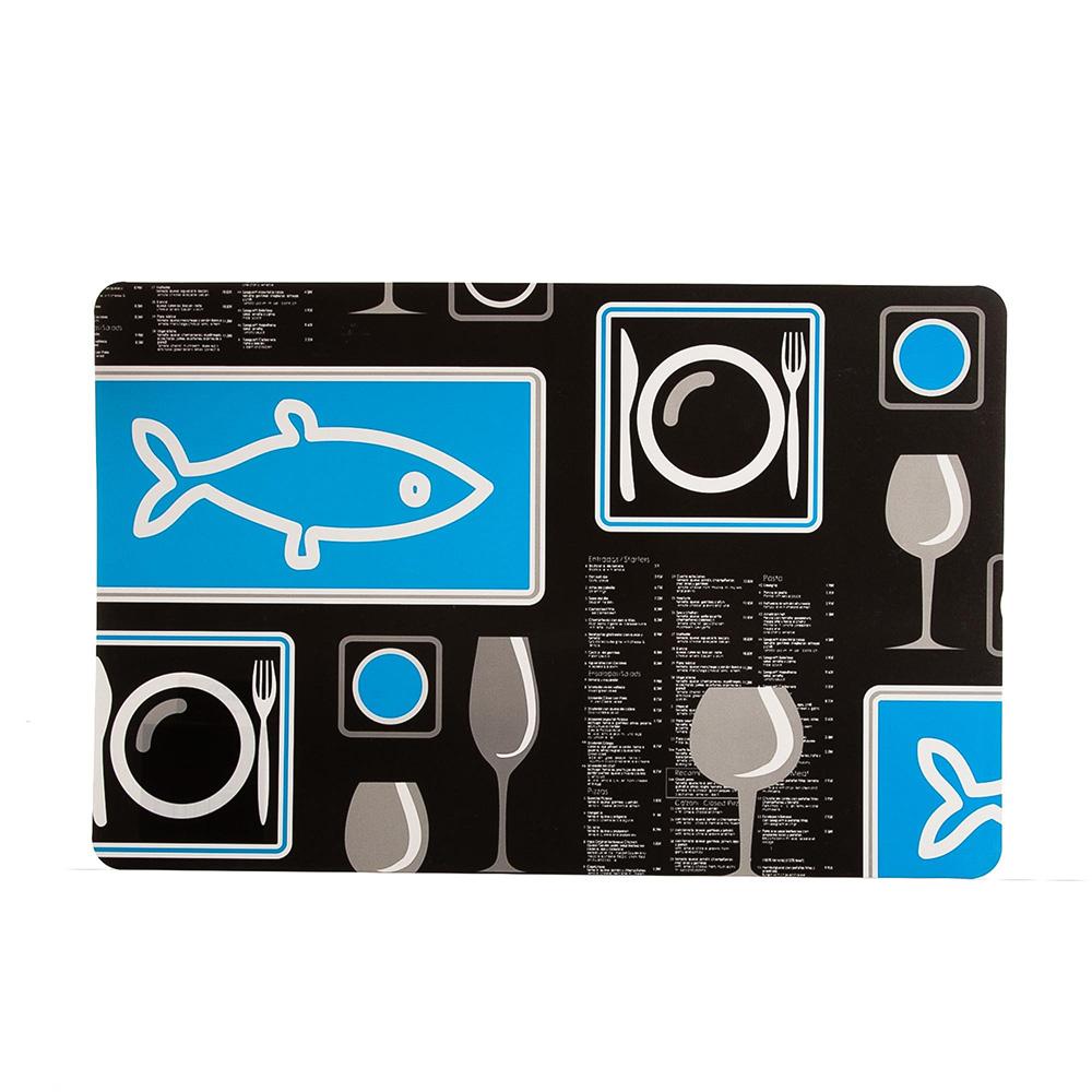 Bosphorus Amerikan Servis Tekli Balık Desenli Pvc Ürün Resmi