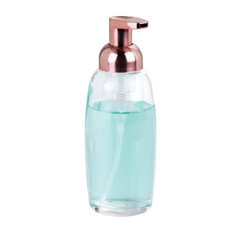 Cam Sıvı Sabunluk Şeffaf Model