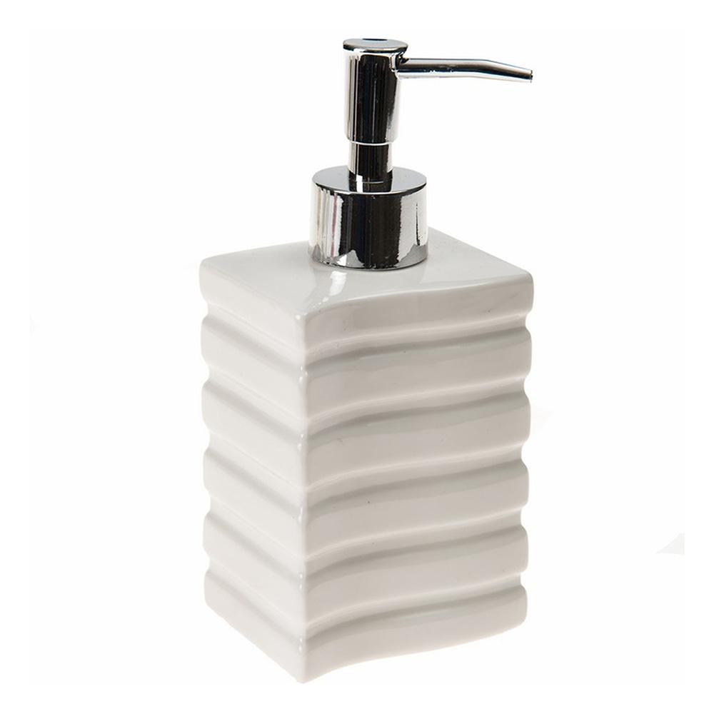 Sıvı Sabunluk Kare Çizgili Model Banyo Aksesuarı