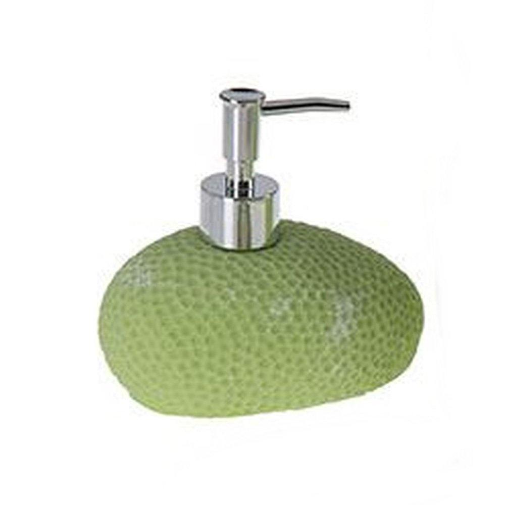Sıvı Sabunluk Yeşil Petek Desenli Banyo Aksesuarı