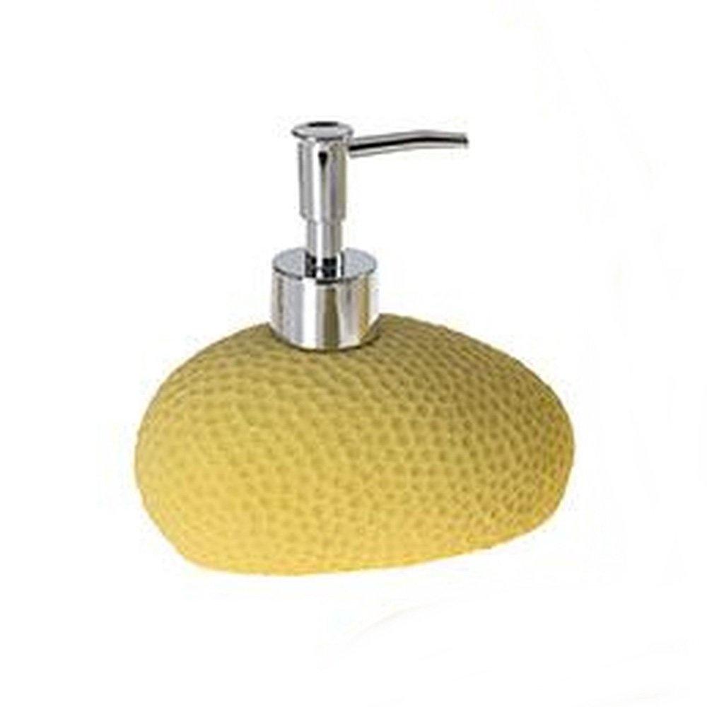Sıvı Sabunluk Sarı Petek Desenli Banyo Aksesuarı