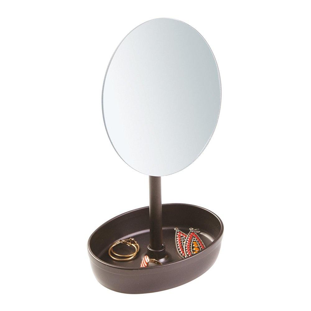 Makyaj,Takı Aynası Ve Kozmetik Organizeri Birarada Düzenleyici Set