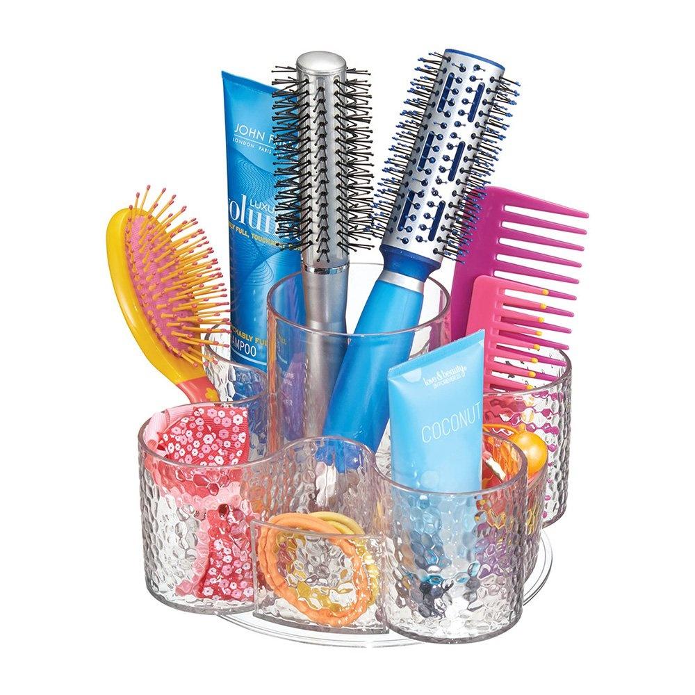 Saç Fırçaları,Kozmetik Ürün Düzenleyici Kendi Etrafında Dönme Özellikli Takı Ve Makyaj Organizeri