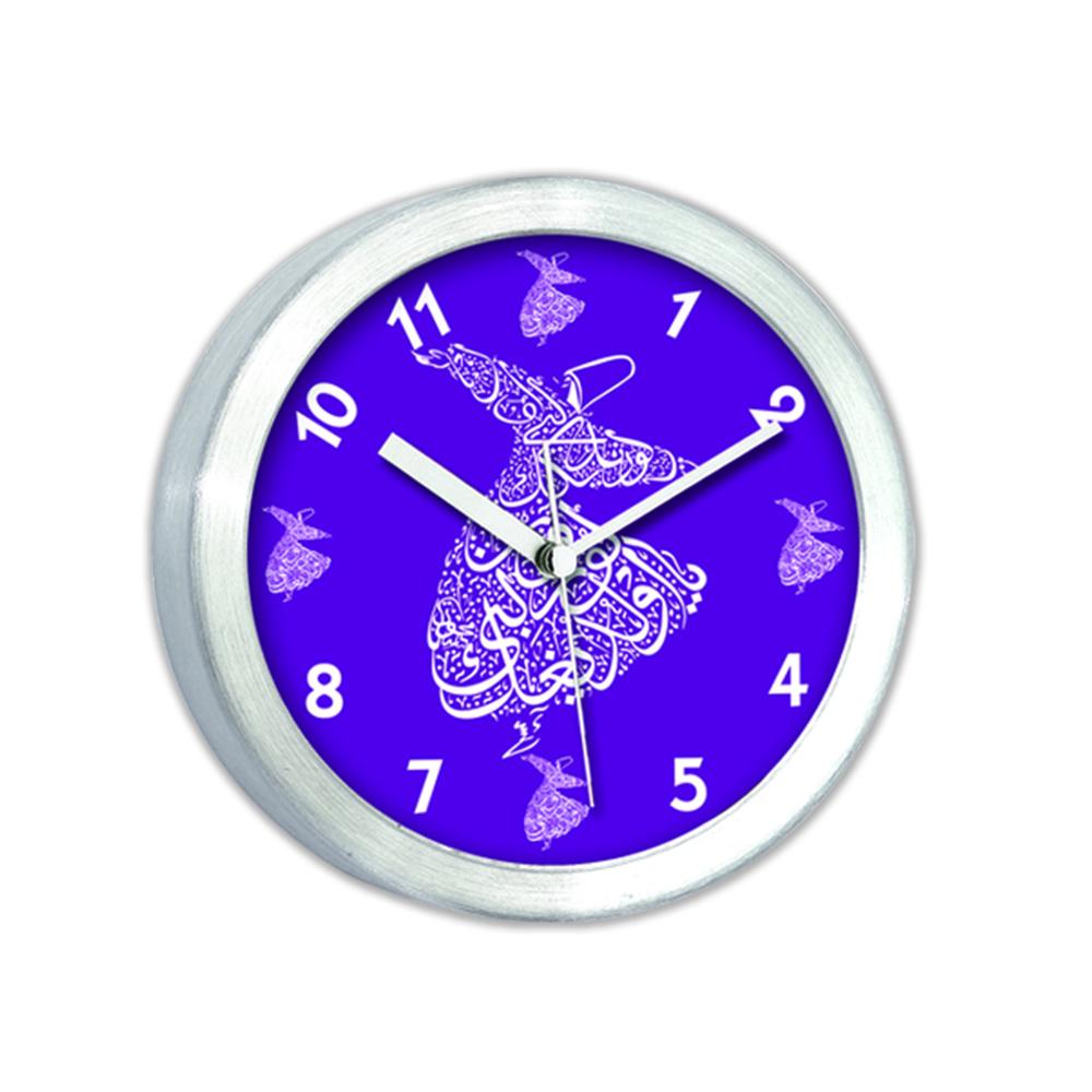 Alüminyum Mıknatıslı Buzdolabı Saati-11Cm Tg191K2