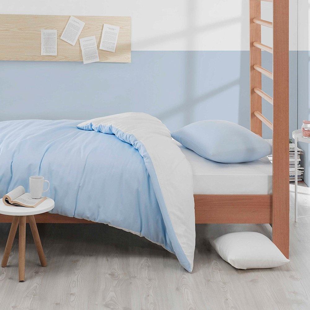 Eponj Home Paint Nevresim Takımı Tek Kişilik Mix A.Mavi-Beyaz Ürün Resmi