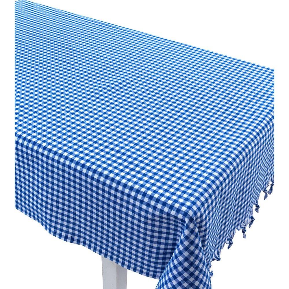 Eponj Home Masa Örtüsü Piti Kareli Zifir Mavi Ürün Resmi