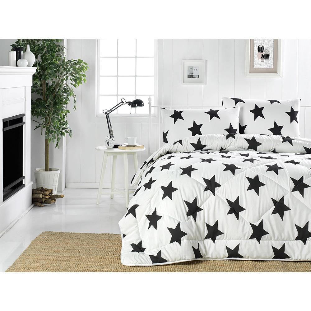 Eponj Home Life Yorgan Tek Kişilik BigStar B&W Beyaz Ürün Resmi