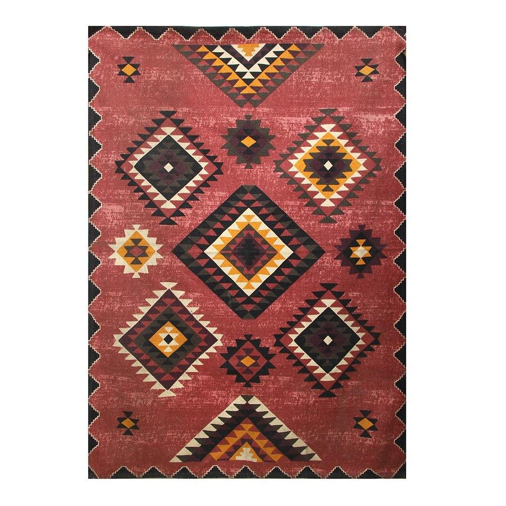 Etnik Desen Kilim Pembe 120x180