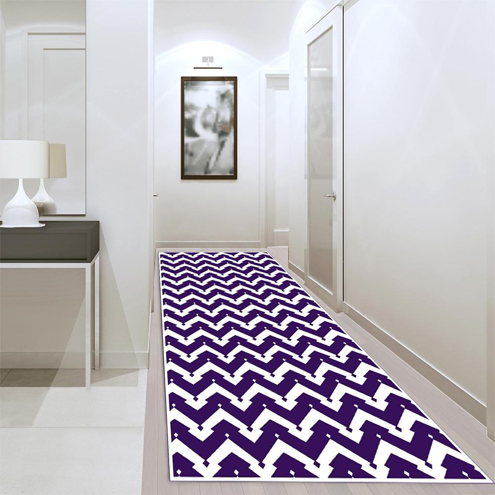 Zigzag-Art 01 Baskı Halı 80X300