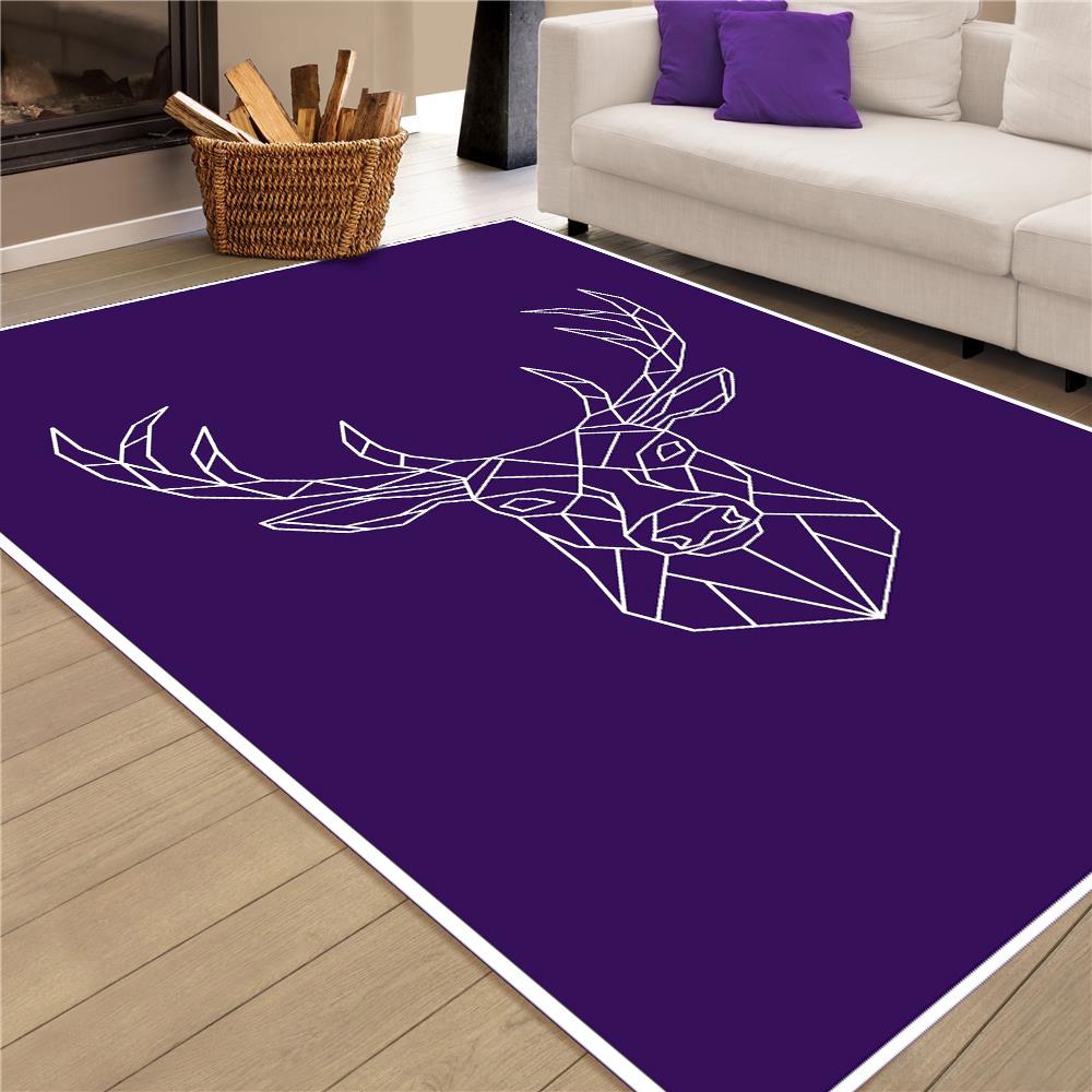 Deer-Art 02 Baskı Halı 80X200