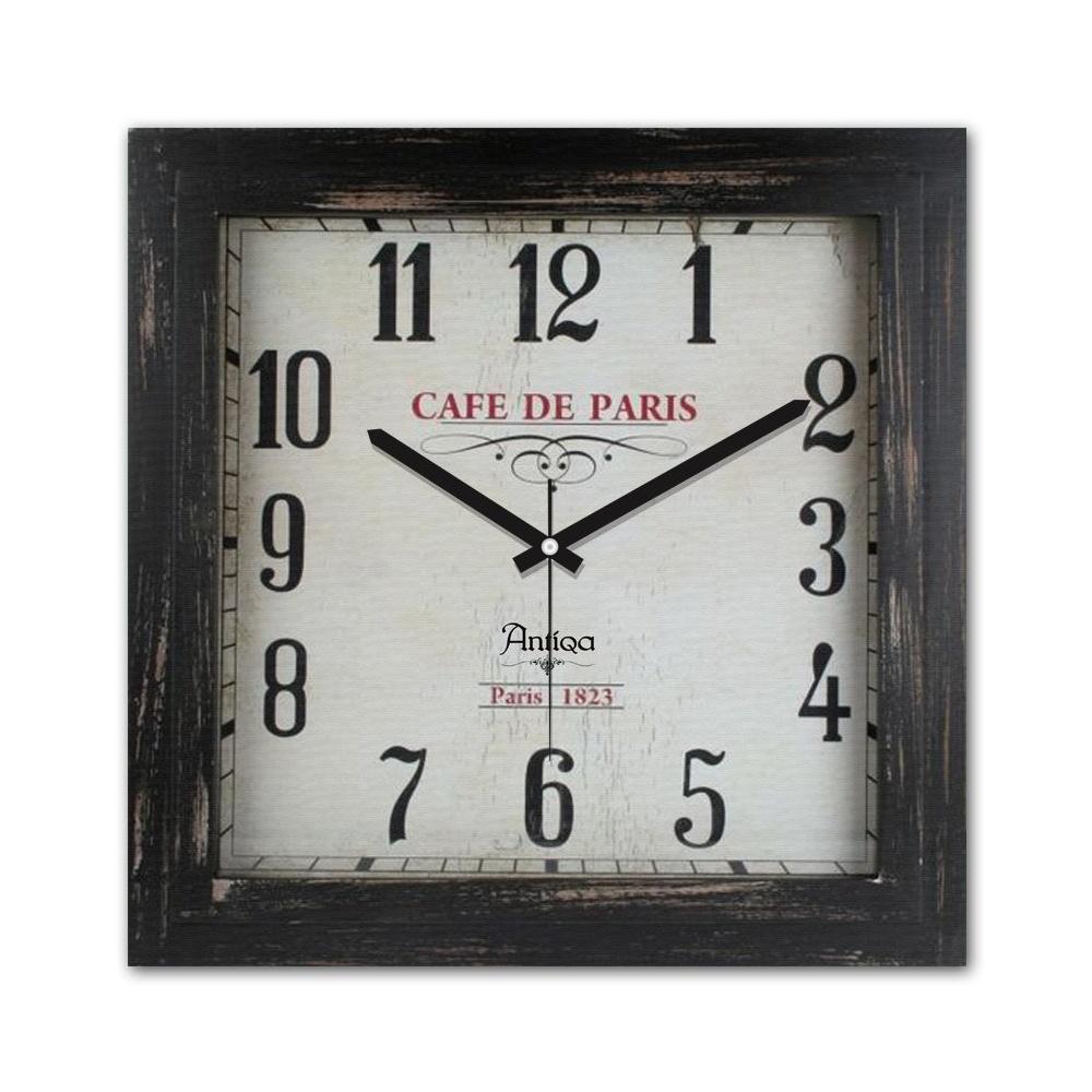 Decoclub AntiQa De Paris MDF Duvar Saati 30x30 Cm ANS286 Ürün Resmi
