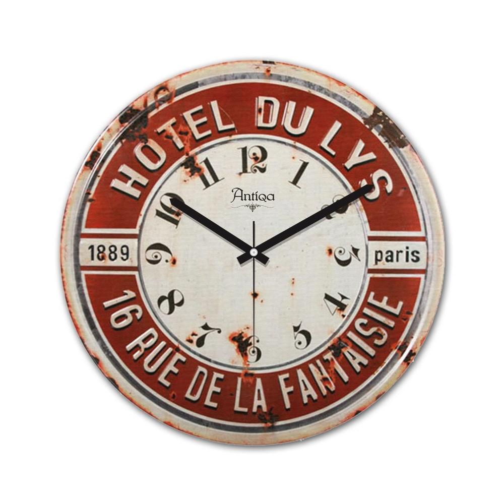Decoclub AntiQa De Paris MDF Duvar Saati 30x30 Cm ANS275 Ürün Resmi