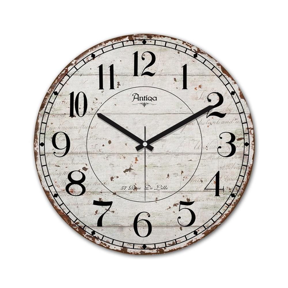 Decoclub AntiQa De Paris MDF Duvar Saati 30x30 Cm ANS272 Ürün Resmi