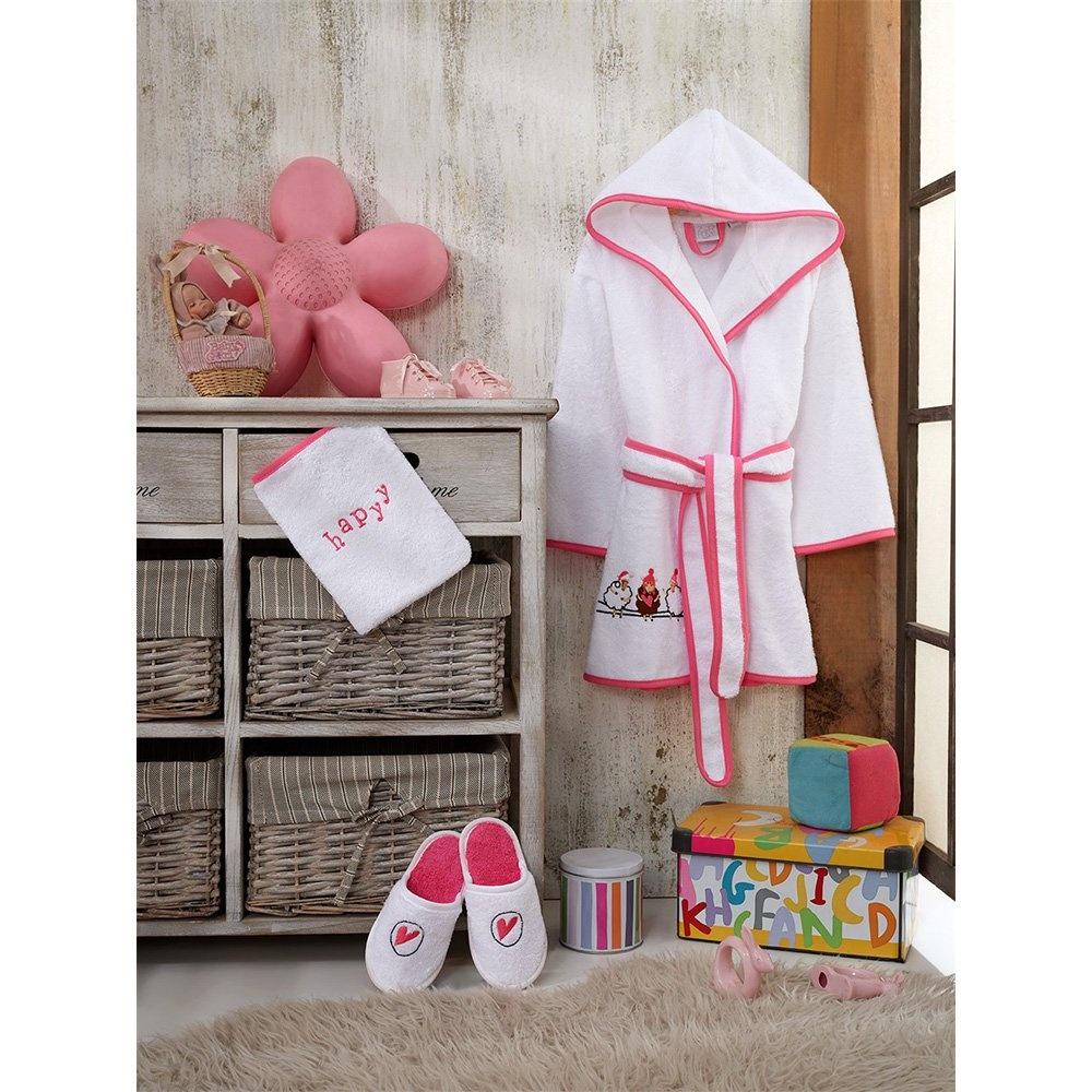 Z&R HOME Bambu 7-8 Yaş Çocuk Bornoz Seti - Pecora Ürün Resmi