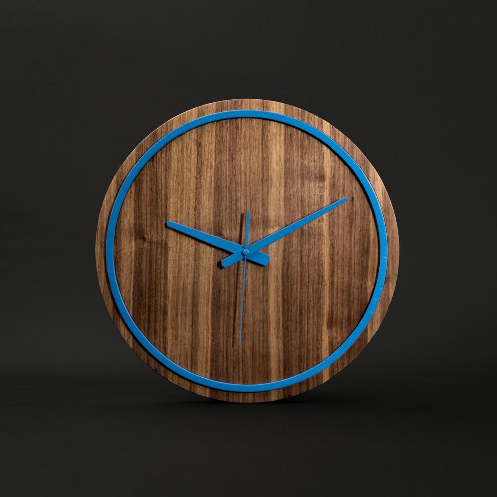 Gugar Wood Renkli Saatler (Mavi) Ürün Resmi