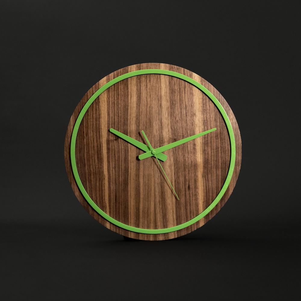 Gugar Wood Renkli Saatler (Yeşil) Ürün Resmi