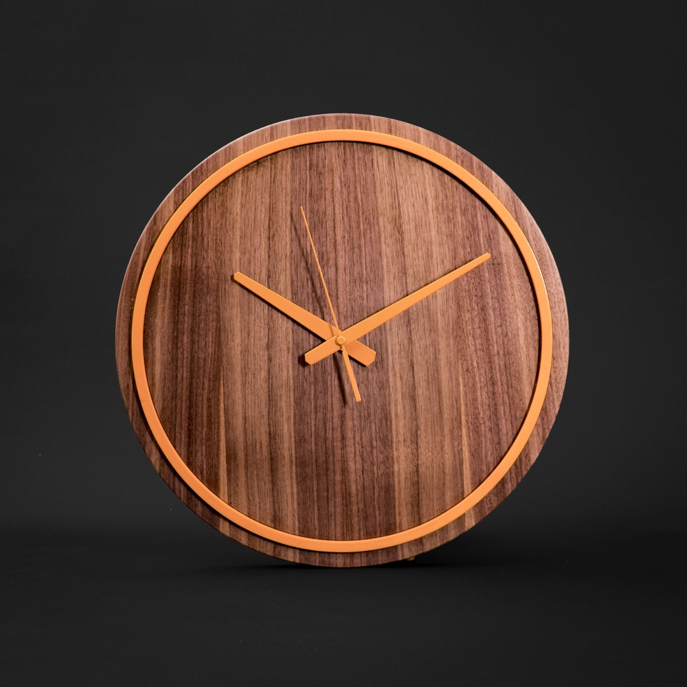 Gugar Wood Renkli Saatler (Turuncu) Ürün Resmi
