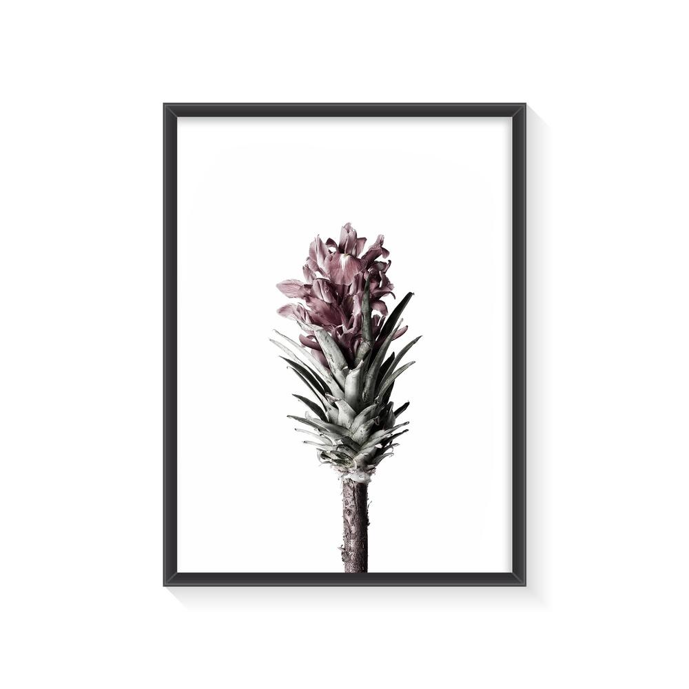 Normmade Flower Siyah Çerçeveli Baskı Ürün Resmi