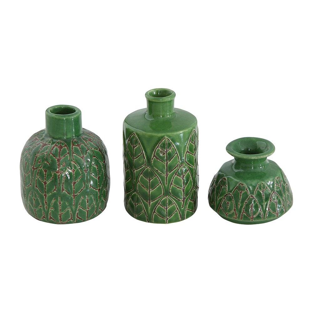 Warm Design Kabartmalı Seramik Vazolar Ürün Resmi