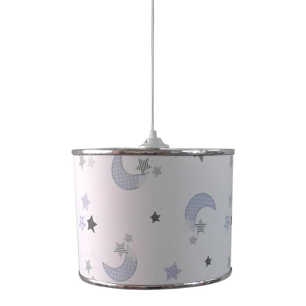 Ege Light Mavi Ay Yıldız Çocuk Odası Sarkıt Ürün Resmi