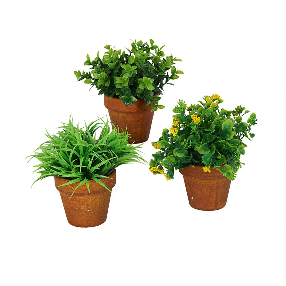 Decosuar Saksılı Yapay Bitki Ürün Resmi