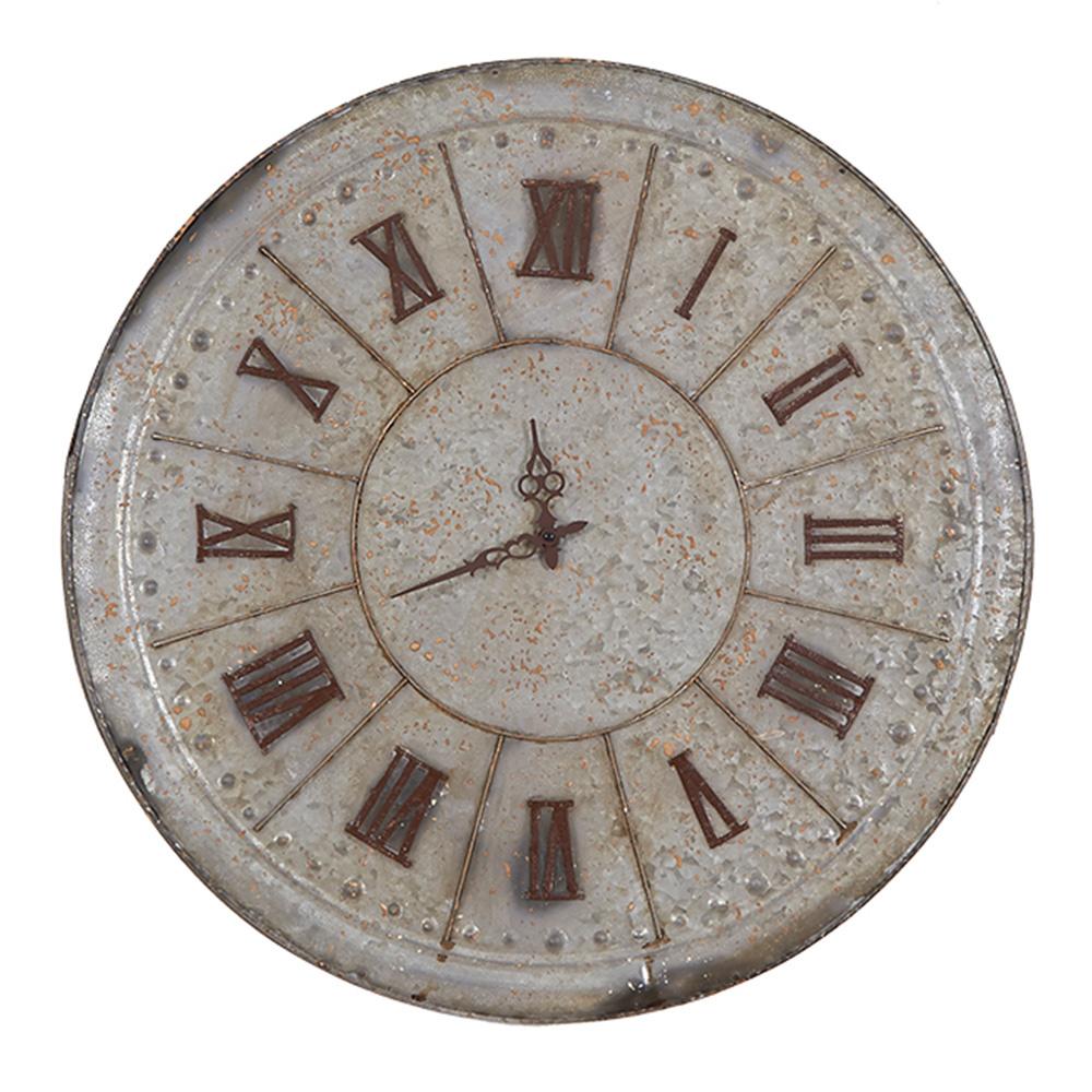 Decosuar Eskitme Stil Metal Saat Ürün Resmi