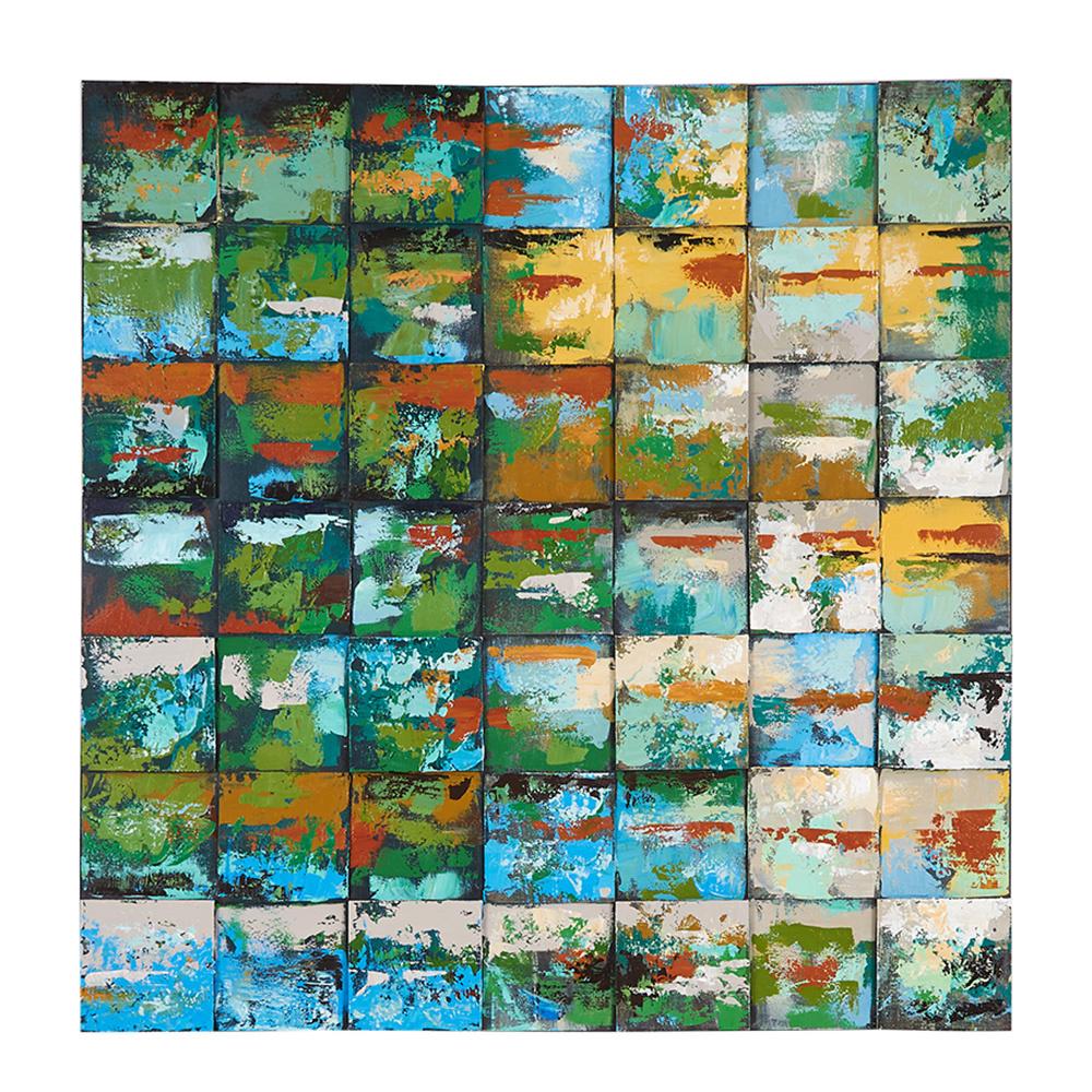 Decosuar Ahşap Kabartmalı El Yapımı Yağlı Boya Tablo Ürün Resmi