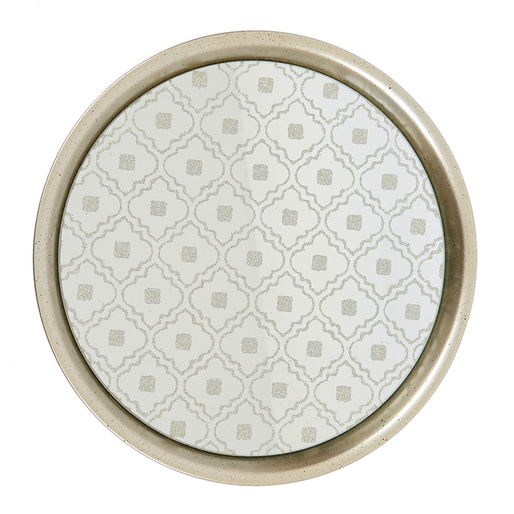 Decosuar Metal - Aynalı Tepsi Ürün Resmi