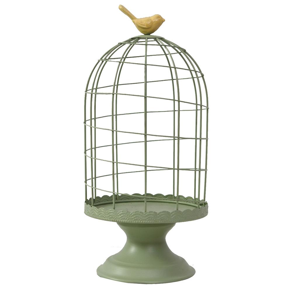Decosuar Mint Yeşili Dekoratif Kuş Kafesi Ürün Resmi