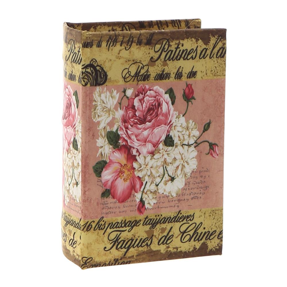 Decosuar Floral Baskılı Kitap Kutu Ürün Resmi