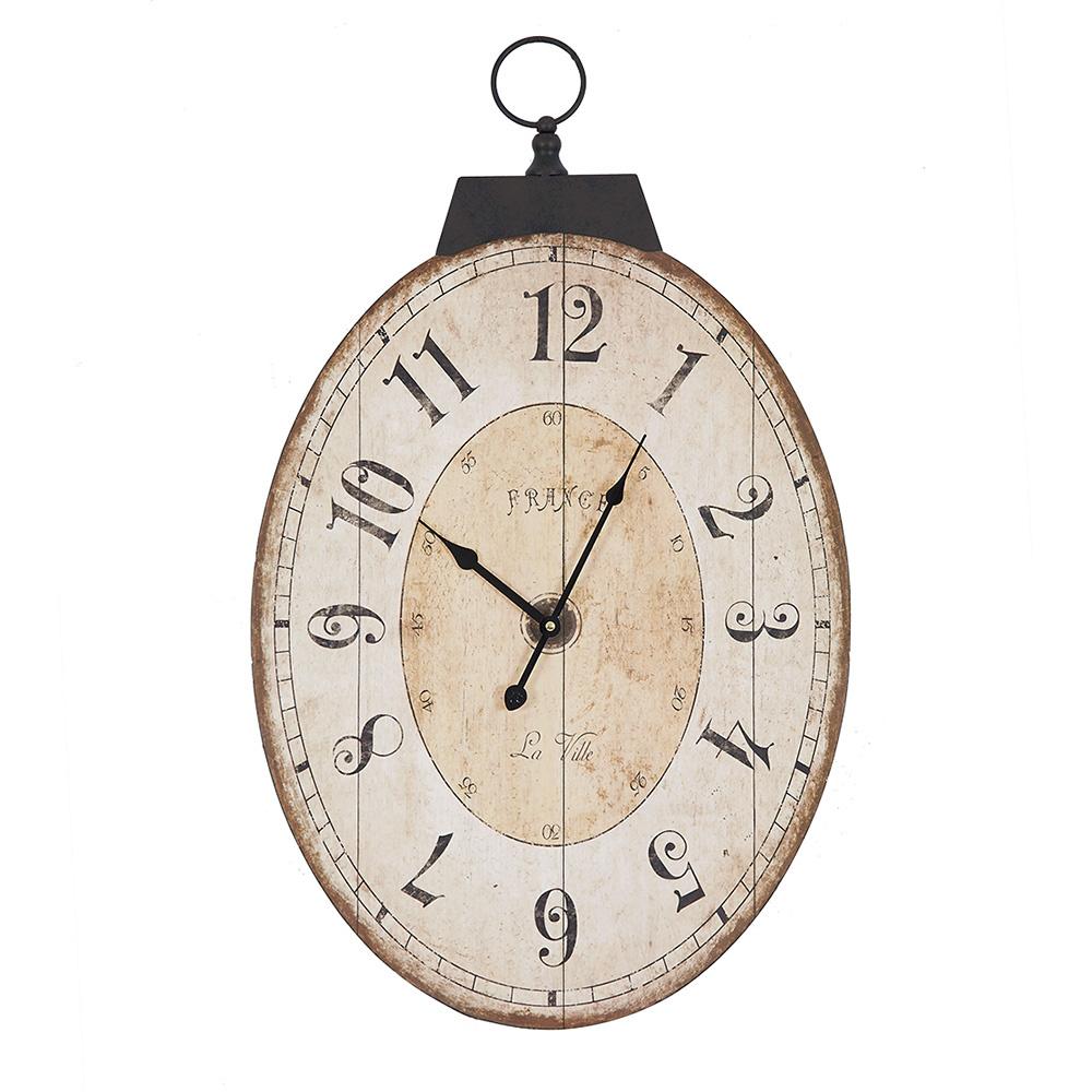 Decosuar Oval Duvar Saati Ürün Resmi